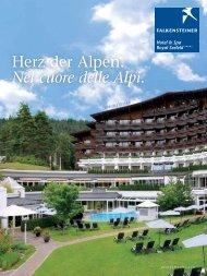 Herz der Alpen. Nel cuore delle Alpi. - Falkensteiner