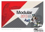 Download Modular Brochure 2012 (PDF). - ABC Expo