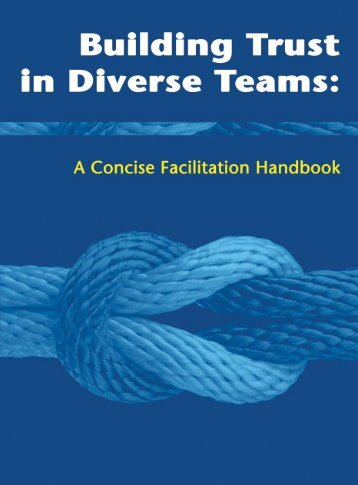 Building Trust in Diverse Teams: A Concise Facilitation - ECB Project