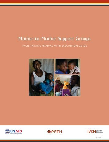 Mother-to-Mother Support Groups - USAID's Infant & Young Child ...