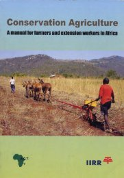 Conservation Agriculture - World Association of Soil and Water ...