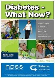 Facilitator Manual - Diabetes Queensland
