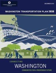 Washington Transportation Plan 2011-2030 - Washington State ...