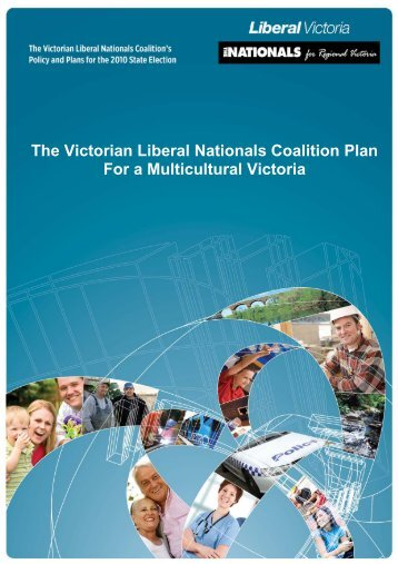 The Victorian Liberal Nationals Coalition Plan For a Multicultural ...