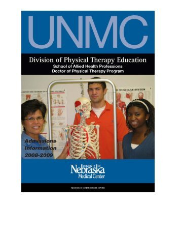 physical therapy education at the university of nebraska medical ...