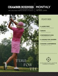 TIME FOR TEE - Hilton Head Island-Bluffton Chamber of Commerce