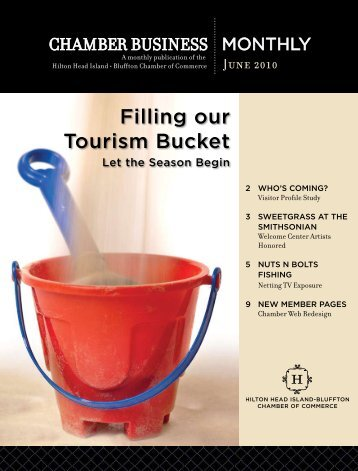 Filling our Tourism Bucket - Hilton Head Island-Bluffton Chamber of ...