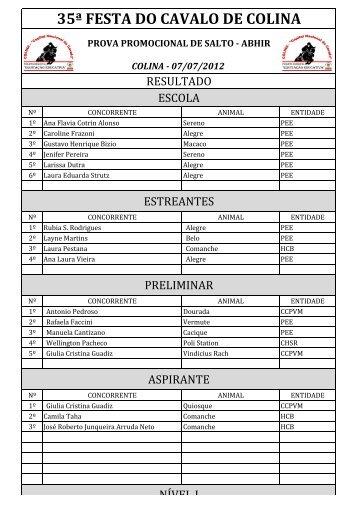 03 - Res - Prova Promocional de Salto - ABHIR - 07-07-12