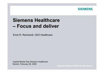 Siemens Healthcare,