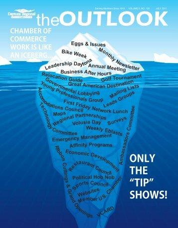 July 2011 Newsletter - Daytona Beach Chamber of Commerce