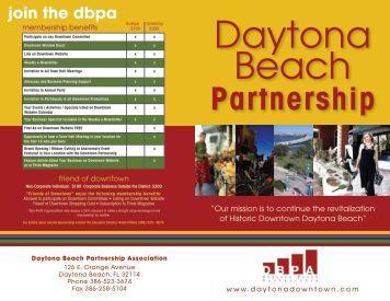 Partnership - Daytona Beach Chamber of Commerce