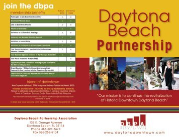 Partnership - Daytona Beach Chamber of Commerce