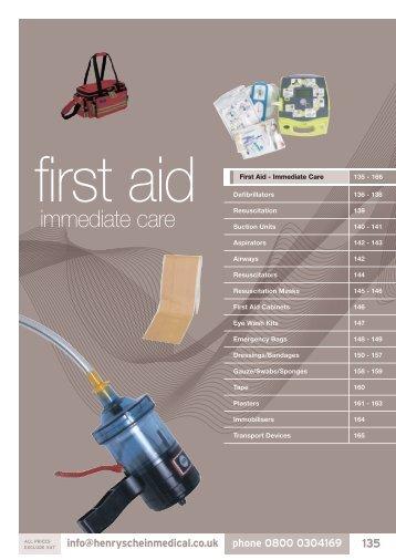 12. First Aid - Immediate Care - Henry Schein