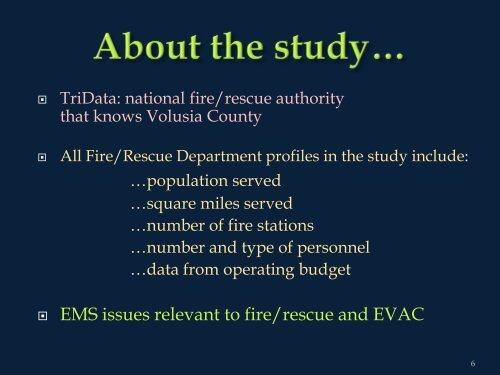 Countywide Fire/Rescue PPT - Daytona Beach Chamber of ...