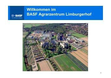 Willkommen im BASF Agrarzentrum Limburgerhof