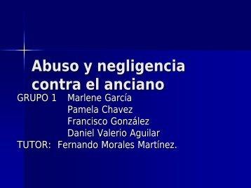 Abuso y negligencia contra el anciano - Academia Latinoamericana ...