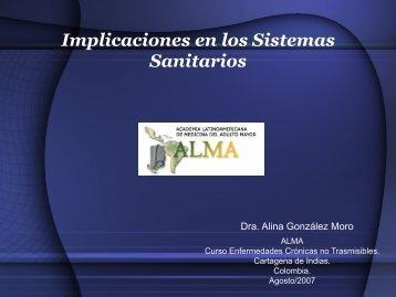 Implicaciones en los Sistemas Sanitarios - Academia ...