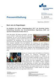 Bunt wie ein Regenbogen - Universitätsklinikum Regensburg