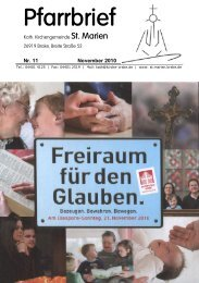 11 - Kath. Kirchengemeinde St. Marien in Brake