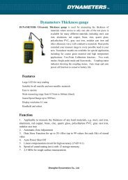 Dynameters Thickness gauge - Contika