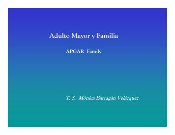 Adulto Mayor y Familia