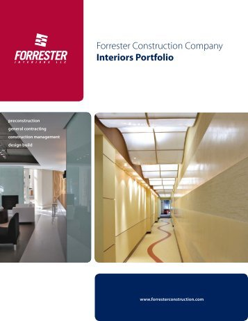 Interiors Portfolio - Forrester Construction