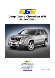 Jeep Grand Cherokee WH Bj. 06/2005 - SGS
