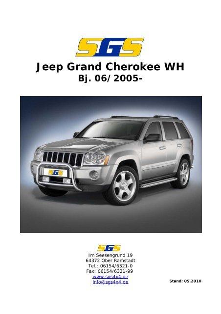 Jeep Grand Cherokee WH Bj. 06/2005 - SGS