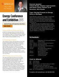 DTE Energy Conference - Michigan Society of Planning