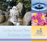 Cerritos Recycled Water Distribution System - City of Cerritos