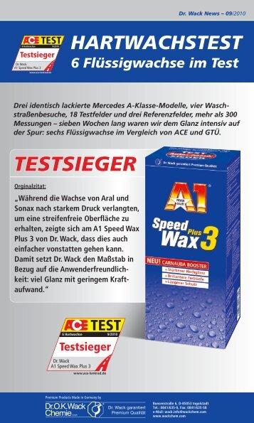 TESTSIEGER - Dr. O.K. Wack Chemie GmbH