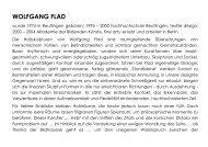 (Art.iS) zu Wolfgang Flad - Fachbereich Medien, Kunst und Industrie