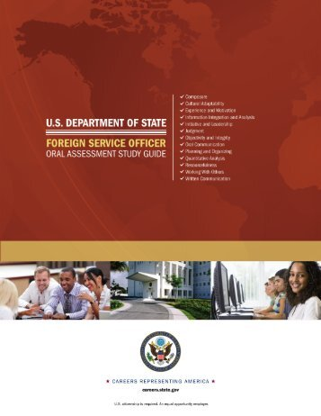Foreign Service Officer: ORAL ASSESSMENT STUDY GUIDE