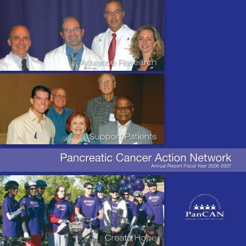 7571 Annual Report 2007 902 - Pancreatic Cancer Action Network