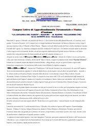 3° COMUN. CONCL. CAMPUS M. MANNU 10 (1) - Banda Musicale