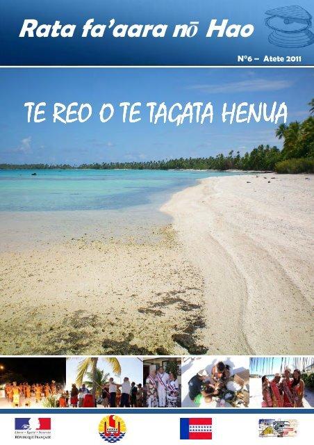 Te Reo 6 tahitien - Haut-Commissariat de la république en ...