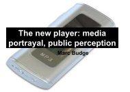 media portrayal, public perception - Alzheimer's Australia