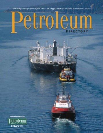 PN Directory Sept. 2007 - for Petroleum News
