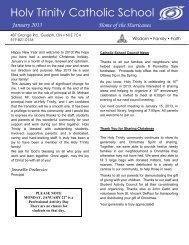 Newsletter - Wellington Catholic