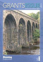 North East Area Grants Newsletter 2011
