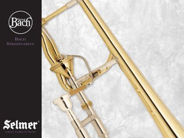 Bach Stradivarius professional trombones - Vincent Bach Ordering