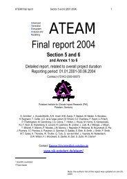 ateam - Potsdam Institute for Climate Impact Research