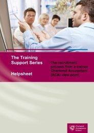 Recruitment trainee perspective.pdf - Chartered Accountants Ireland