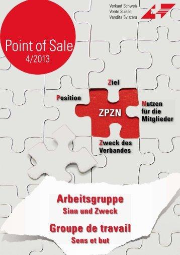 """Verkauf Schweiz """"Point of Sale 4/2013"""""""