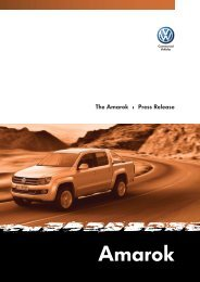 Volkswagen Amarok – detailed press release - AUSmotive.com