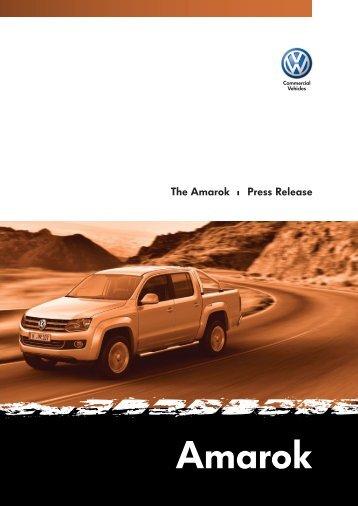 Volkswagen Amarok – detailed press release - AUSmotive.com