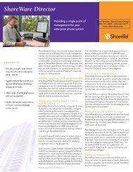 ShoreTel System Management - Starnet Data Design, Inc