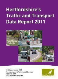 Traffic And - Hertfordshire County Council