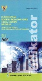 Edisi Maret 2009 - Badan Pusat Statistik