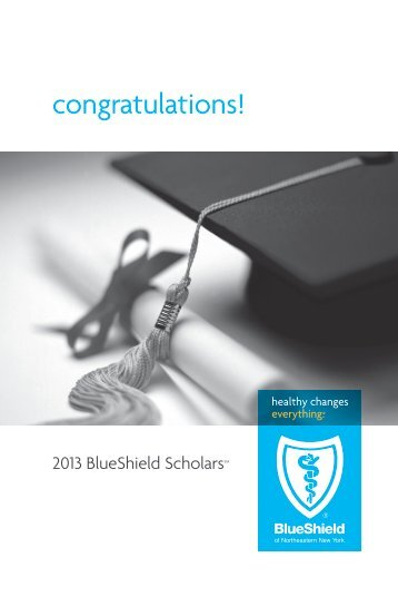 Congratulations Blue Shield Of Northeastern New York